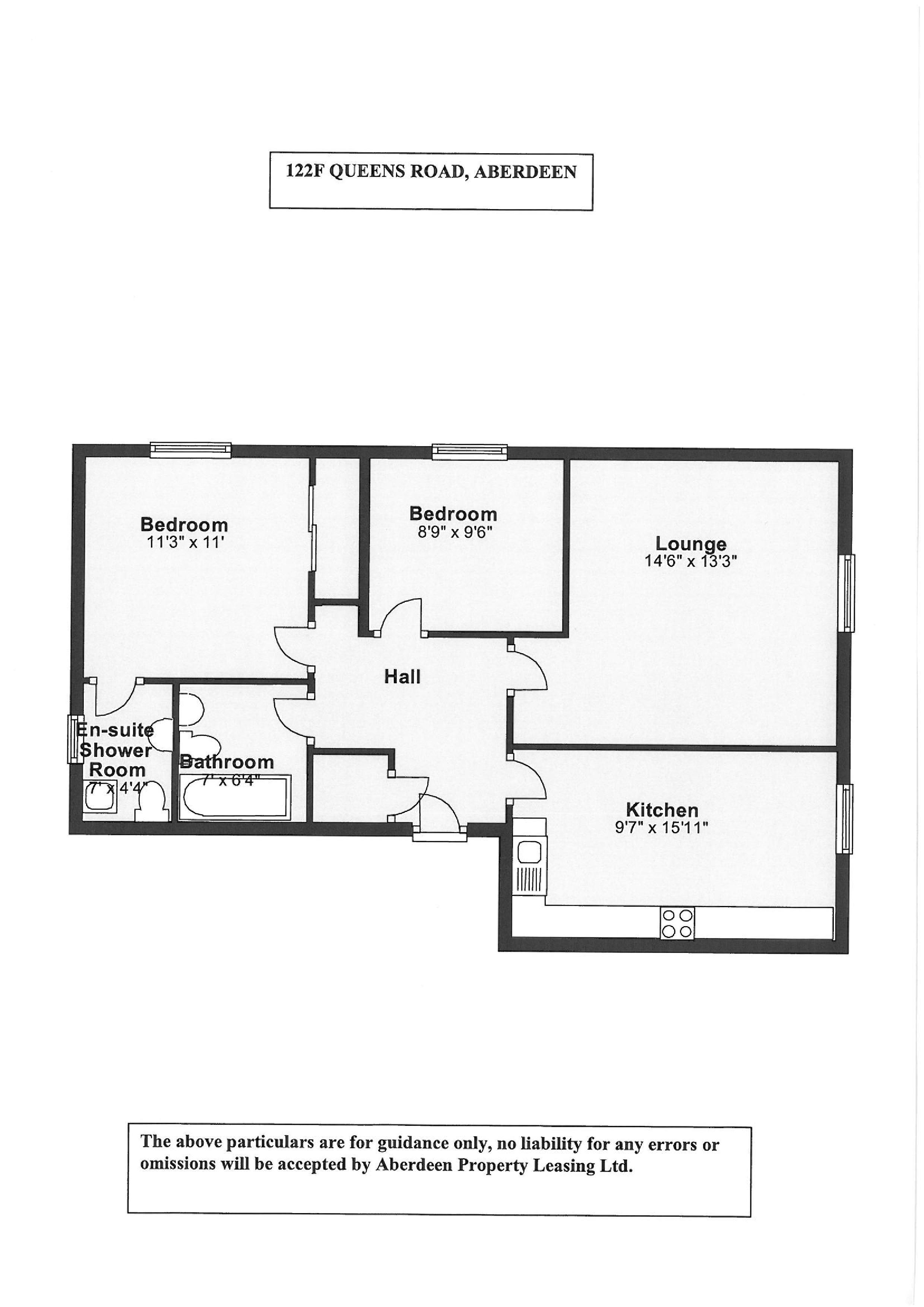 Queens Road Mansions. Aberdeen, AB15 floorplan